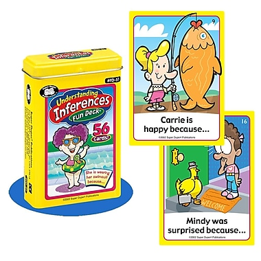 Super Duper® Understanding Inferences Fun Deck® Cards