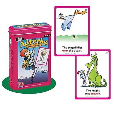 Super Duper® Adverbs Fun Deck Cards