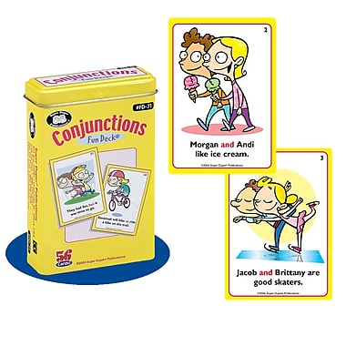 Super Duper® Conjunctions Fun Deck Cards