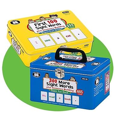 Super Duper® Sight Words Fun Deck® Combo Cards