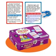 "Super Duper® ""What is the Main Idea?"" Super Fun Deck® Cards With Secret Decoder"