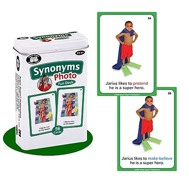Super Duper® Synonyms Photo Fun Deck Cards