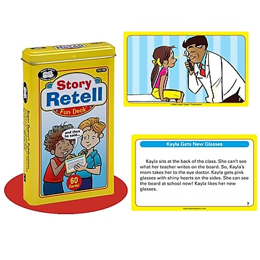 Super Duper® Story Retell Fun Deck Cards