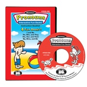 Super Duper® Webber® Pronouns Interactive Fun Decks® CD-ROM