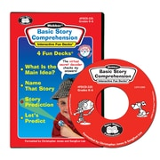 Super Duper® Basic Story Comprehension Interactive Fun Decks® CD-ROM