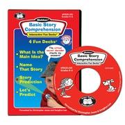 Super Duper® Basic Story Comprehension Interactive Fun Decks® CD-ROM