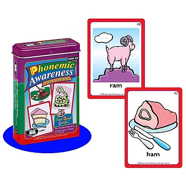 Super Duper® Phonemic Awareness Fun Deck® Cards