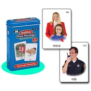 "Super Duper® Webber® ""Postvocalic Devoicing"" Photo Phonology Deck Cards"