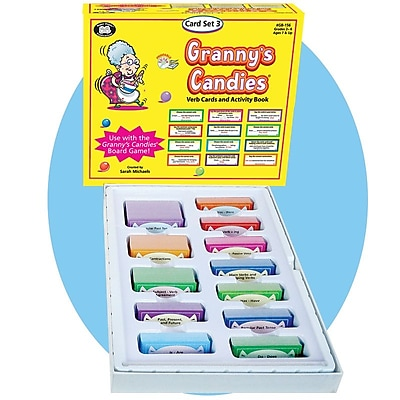 Super Duper Granny's Candies Set 3 Verb Card Game 308129