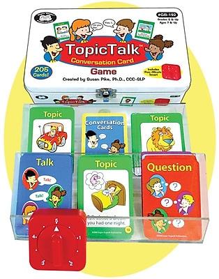 Super Duper TopicTalk Conversation Card Game