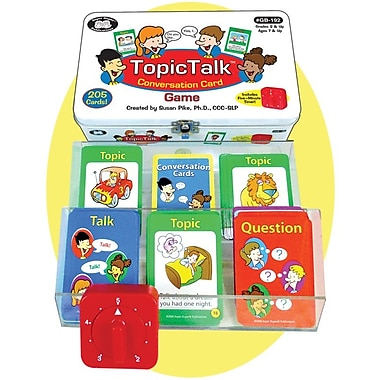 Super Duper® TopicTalk™ Conversation Card Game
