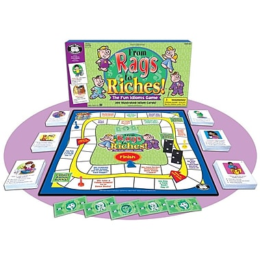 Super Duper® From Rags to Riches® Idioms Game Board