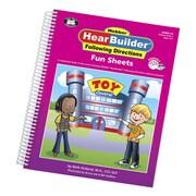 Super Duper® Webber® HearBuilder® Following Directions Fun Sheets, Grades PreK-3