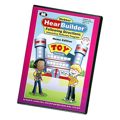 Super Duper Webber HearBuilder Following Directions HOME CD