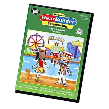 Super Duper® Webber® HearBuilder® Sequencing Software Program HOME CD