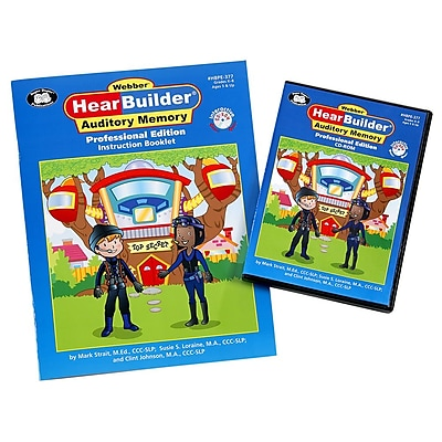 Super Duper Webber HearBuilder Auditory Memory Software Program PRO CD