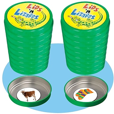 Super Duper® Lids 'n Lizards and Extra Lids Magnetic Photo Vocabulary Game
