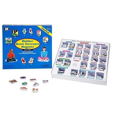 Super Duper® Webber® Basic Concepts MagneFoam™ Magnets Level 1 Game