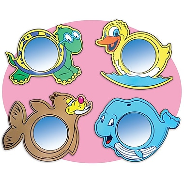Super Duper® Animal Foam Mirrors, Grades PreK and Up