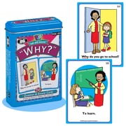 """Super Duper® Ask and Answer® """"Why"""" Cards"""