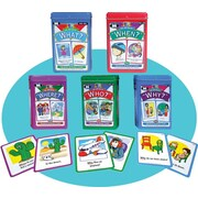Super Duper® Ask and Answer® WH Question Combo Cards