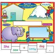 Super Duper® MagneTalk® First 100 Sight Words and Sentence Maker Magnetic Game Board