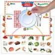 Super Duper® MagneTalk® Magnetic Mealtime Game Board