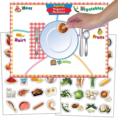 Super Duper® MagneTalk® Magnetic Mealtime Game Board