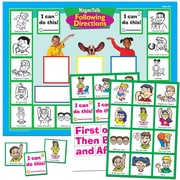 Super Duper® MagneTalk® Following Directions Magnetic Game Board