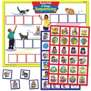 Super Duper® MagneTalk® 4-Step Sequencing Magnetic Game Board