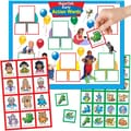 Super Duper® MagneTalk® Early Action Words Magnetic Game Board