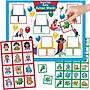 Super Duper® MagneTalk® Early Action Words Magnetic Game