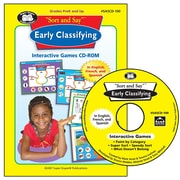 Super Duper® MagneTalk® - Early Classifying Interactive Games CD-ROM