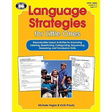 Super Duper® Language Strategies Book For Little Ones