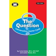Super Duper® Question Conversation Starter Cards Set