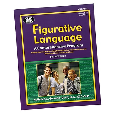 Super Duper® Figurative Language Book