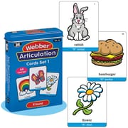 "Super Duper® Webber® Articulation ""R"" Deck Cards"
