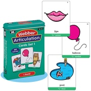 "Super Duper® Webber® Articulation ""L"" Deck Cards"
