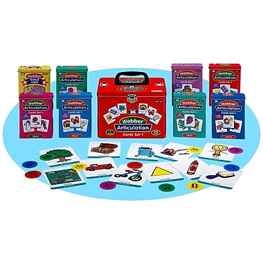 Super Duper® Webber® Combo 1 Articulation Cards
