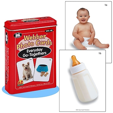 Super Duper® Webber® Everyday Go-Togethers Photo Deck Cards