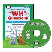 "Super Duper® Webber® Interactive ""WH"" Questions CD-ROM, Level 1"