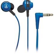 Audio-Technica® ATH-COR150 Core Bass In-Ear Portable Headphone, Blue