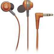 Audio-Technica ATH-COR150 Core Bass In-Ear Portable Headphone, Orange