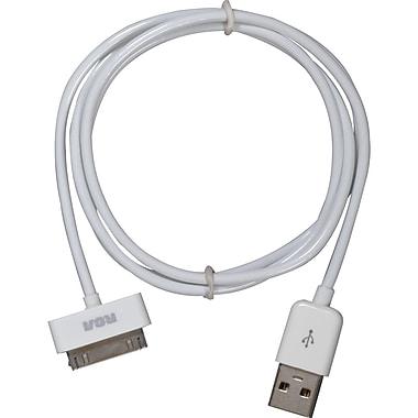 RCA AH740R 3' White Power & Sync Cable