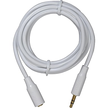 Voxx® 6' Extension Cable, White