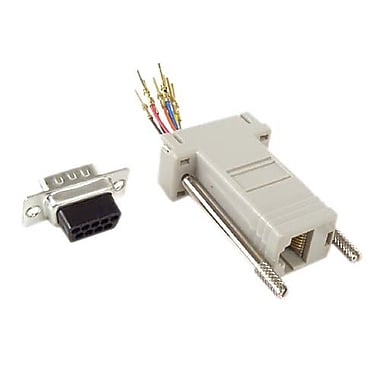 Belkin® DB-9 Male to RJ-45 Female Serial Adapter