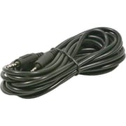 STEREN® 1.5' Stereo Audio Patch Cord, Black