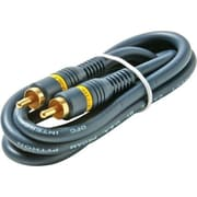 STEREN® 50' 1-RCA Component Audio/Video Cable, Blue