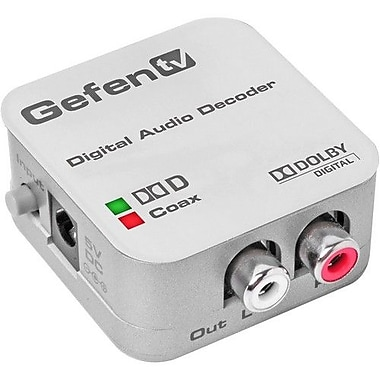Gefen® GTV-DD-2-AA TV Digital Audio Decoder