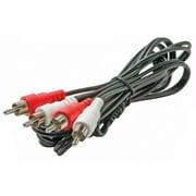 STEREN® 12' RCA Audio Cable, Black